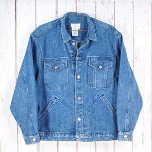 Calvin Klein Sport Denim Jean Jacket Size Medium